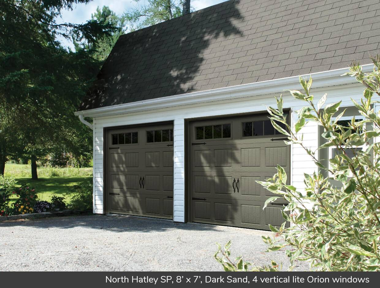 North Hatley SP, 8' x 7', Dark Sand, 4 vertical lite Orion windows