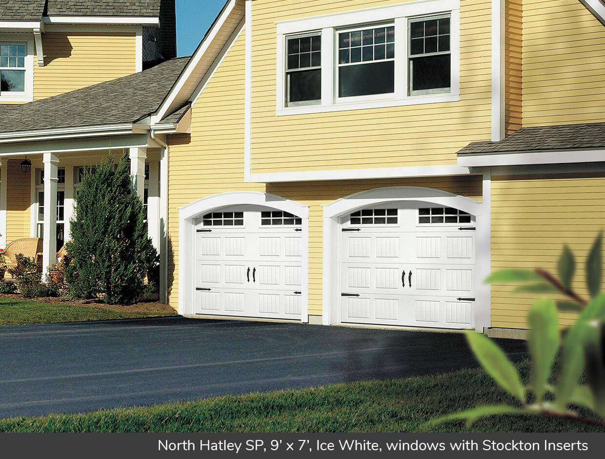 North Hatley SP, 9' x 7', Ice White, windows with Stockton Inserts